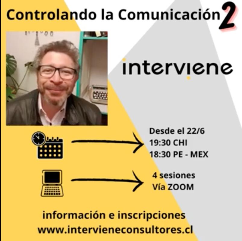 Taller CONTROLANDO LA COMUNICACIÓN